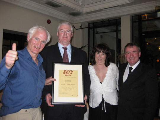 RECI Contractor of the Year Awards 2009 Domestic Winner -Dublin Region